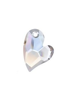 Pendentif designer edition devoted 2 U 27mm crystal AB