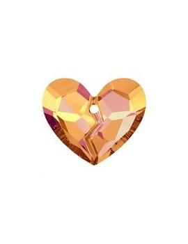 pendentif designer edition forever 1 heart 36mm crystal astral pink