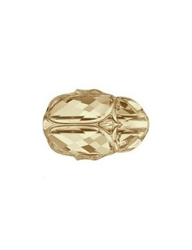Scarab bead 12 mm Cr golden shadow