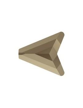 Perle arrow bead 12mm Swarovski® crystal metallic light gold