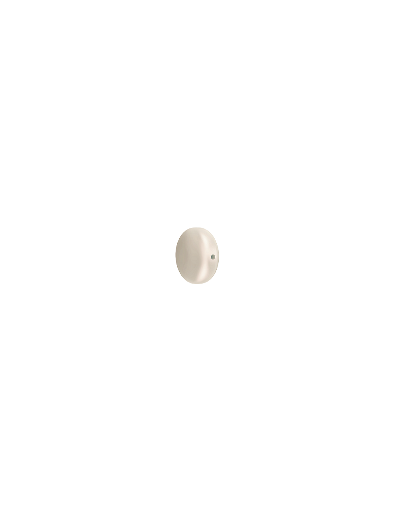 Perle nacrée plate Swarovski®12mm cream