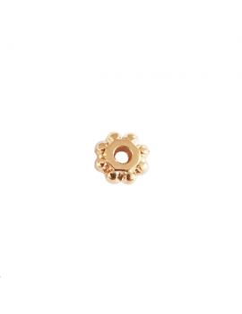 Intercalaire rondelle de 6 mm doré