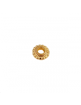 Intercalaire rondelle  7x3mm doré