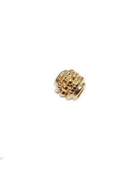 Intercalaire boule 6x2,8mm doré