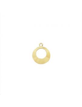Pampille créoles avec anneau doré