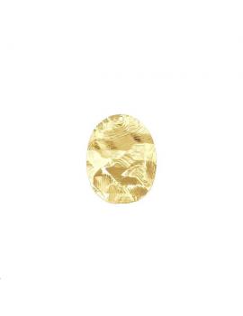 Pendentif oval roc 24x19mm 1 trou d