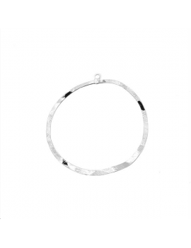 Pendentif cercle roc 45mm 1 anneau