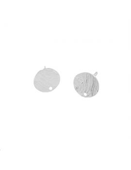 Pastille roc 9mm avec tige 1 trou p