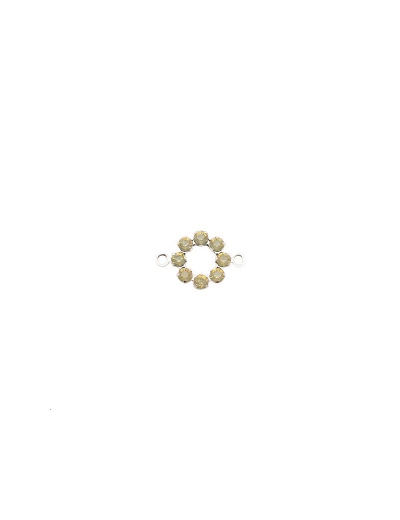 Rondelle strassée 10mm SAOPA