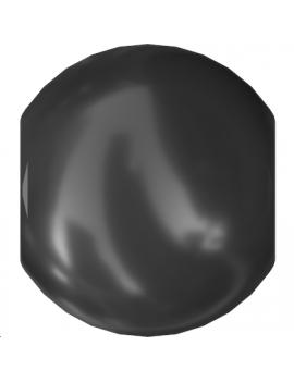 Nacre ronde 4mm black