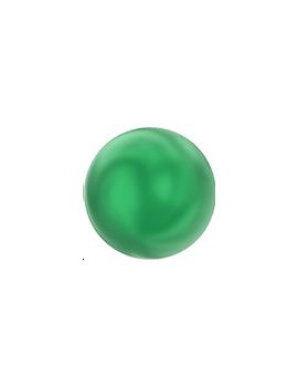 Nacre ronde 4mm eden green