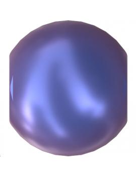 Nacre ronde 6mm ir da blue
