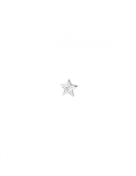 Pièce décor à coller étoile 6,5mm