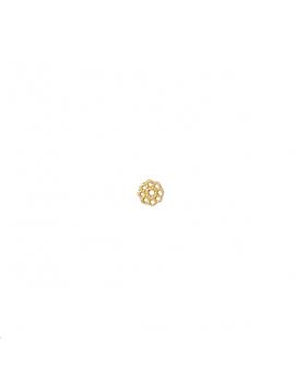 Pièce décor à coller fleur estampée