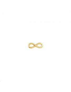 Intercalaire Infini 15 x6 mm doré