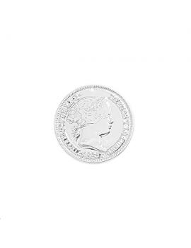 Pendentif pièce de monnaie Isa