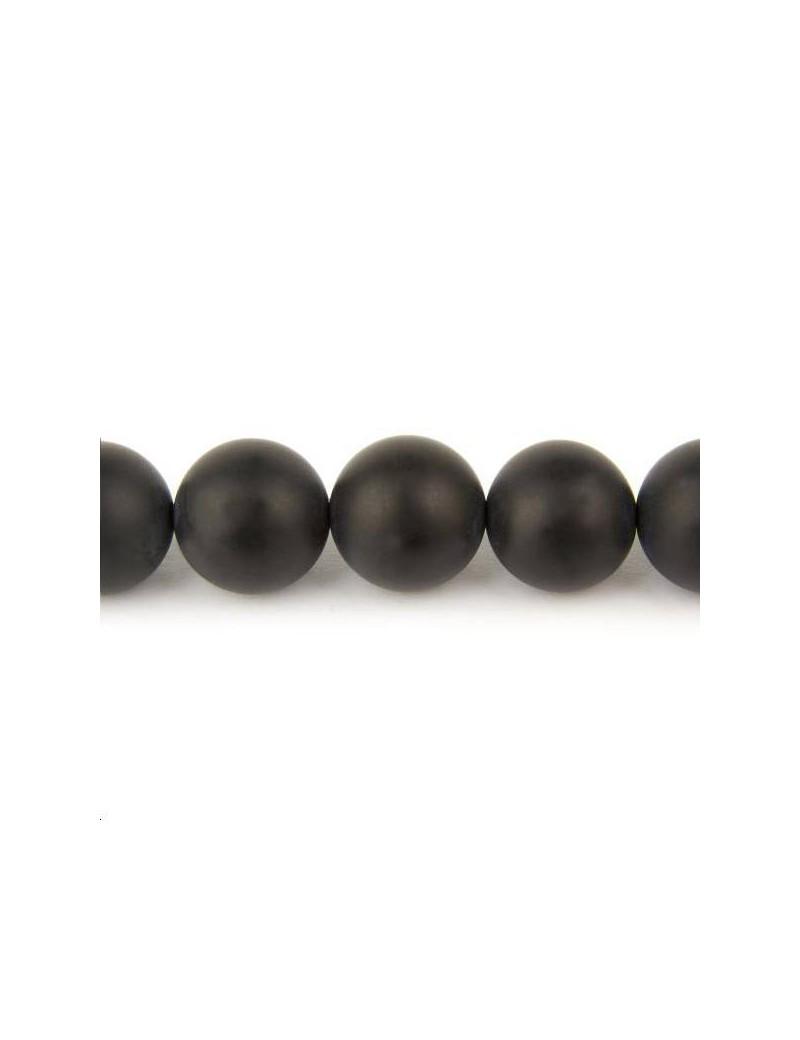 Onyx 16mm noir mat lot de 1 pièce