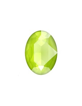 Cabochon 18X13mm cr lime