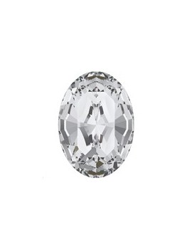 Cabochon oval10x8mm Crystal...