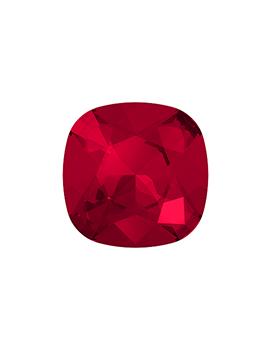 Cabochon carré 12mm scarlet...