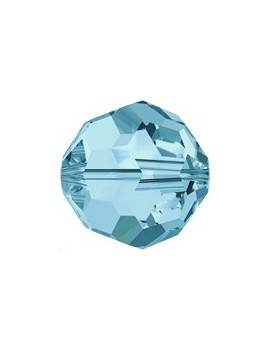 ronde 4mm aquamarine  - 1