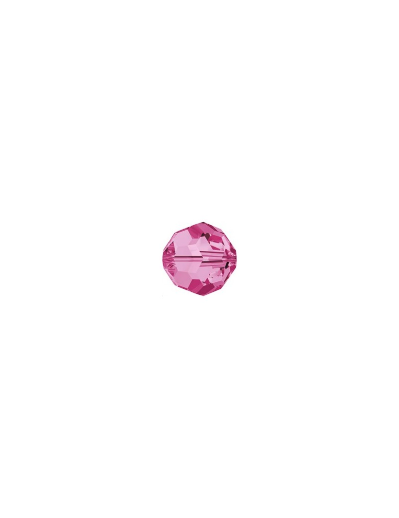 ronde 4mm rose  - 1