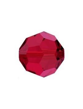 ronde 4mm scarlet