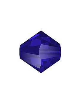 Lot bicônes 4 mm majestic blue