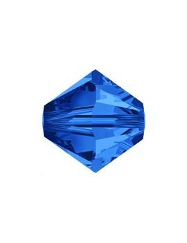 Lot bicônes 4 mm sapphire