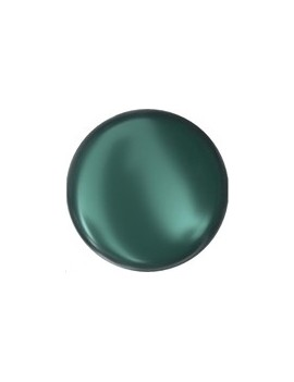 Perle nacrée plate 10mm ir...