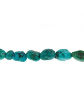 Turquoise nugget 5mm