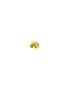 Embout coquille (cache noeud) petit format doré
