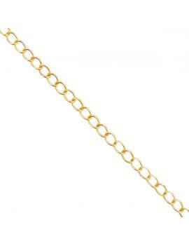 Chaîne de réglage 5mm doré
