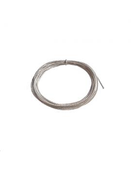 cordon soie japonaise 0.5mm argent
