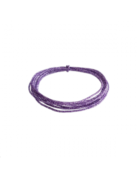 cordon soie japonaise 0.5mm violet