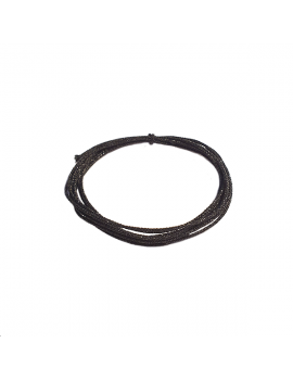 cordon soie japonaise 0.5mm noir