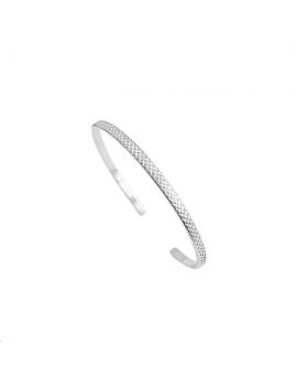 Jonc diamanté croisillon 15/30mm