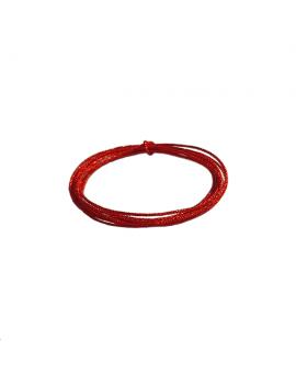 cordon soie japonaise 0.5mm rouge