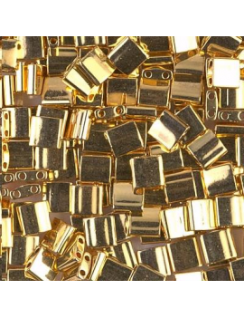 Tila Miyuki 24kt Gold Plated