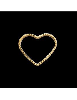 Pendentif cœur décor ciselé