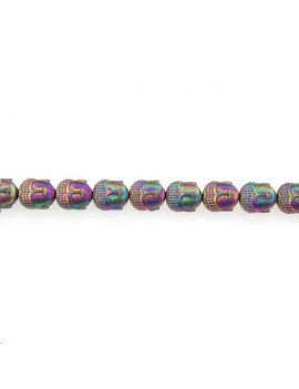 Hématite bouddha 10x9mm scarabée lot de 1 pièce