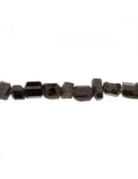 Tourmaline pierre brute noire lot de 4 pièces