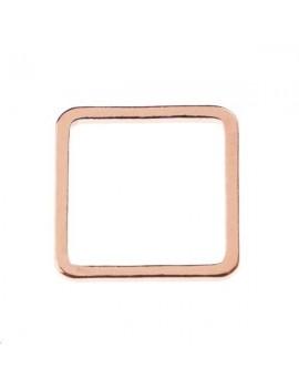 Anneau carré fil carré 12x12x1mm