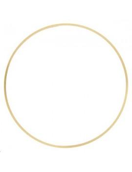 Anneau fil carré 65x1mm doré