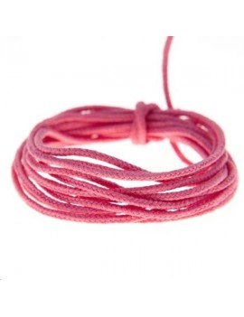 Fashion cord 0,8mm framboise