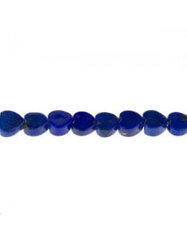 Lapis Lazuli coeur 4-5mm lot de 2 pièces