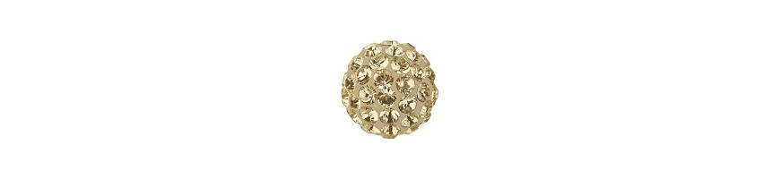 Pave ball 10mm