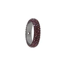 Pave ring 18.5mm 1 trou