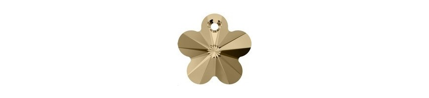 Pendentifs fleur (6744)