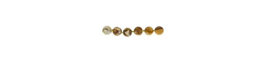 Perles rondes 16-17mm